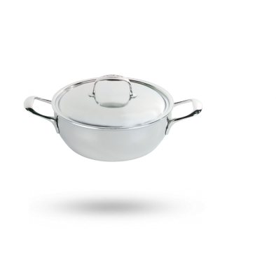 Demeyere Atlantis conic simmering pot with lid