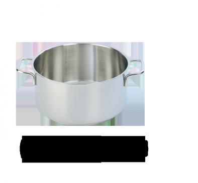 Demeyere Apollo casserole pot without lid