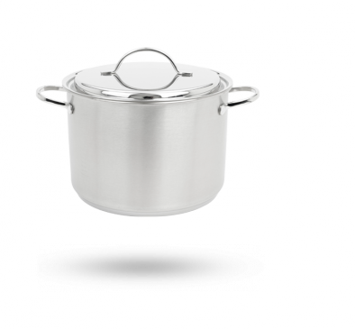Demeyere Resto stockpot with lid