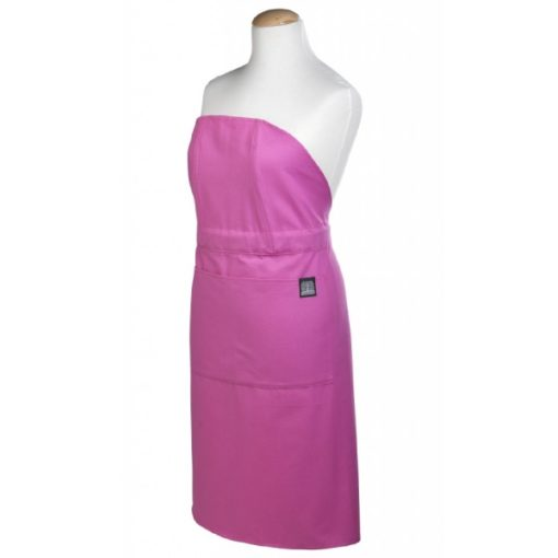 Apron pink front