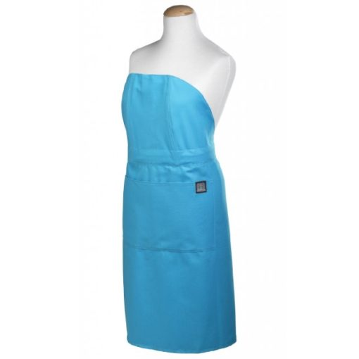 apron turquoise front