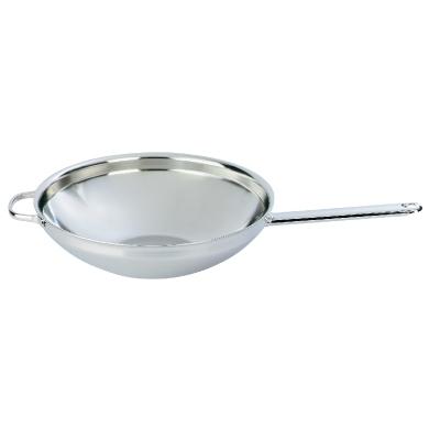 Demeyere large flat bottom wok