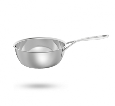 Demeyere Intense conical sauté pan without lid